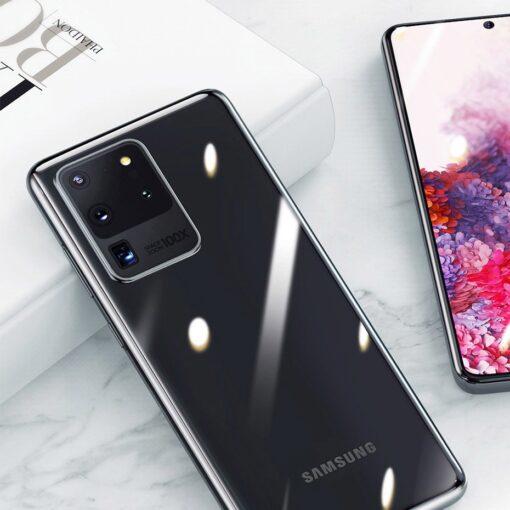 Samsung S20 Ultra Baseus Simple Gel umbris silikoonist labipaistev 10