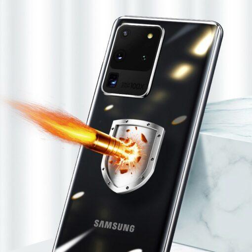 Samsung S20 Ultra Baseus Simple Gel umbris silikoonist labipaistev 12