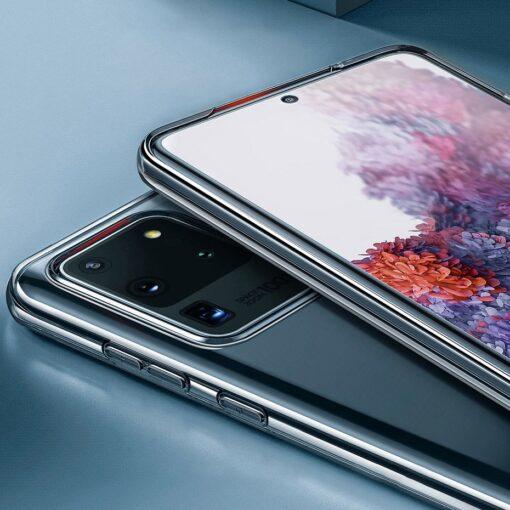 Samsung S20 Ultra Baseus Simple Gel umbris silikoonist labipaistev 14