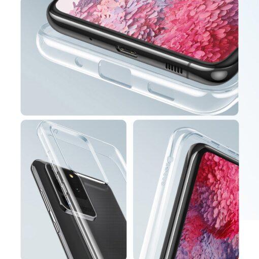 Samsung S20 Ultra Baseus Simple Gel umbris silikoonist labipaistev 19