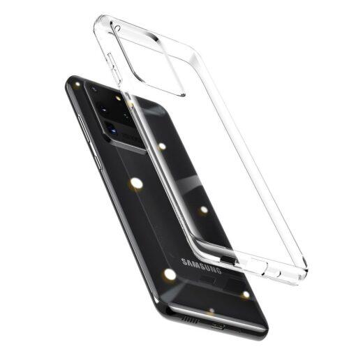 Samsung S20 Ultra Baseus Simple Gel umbris silikoonist labipaistev 2