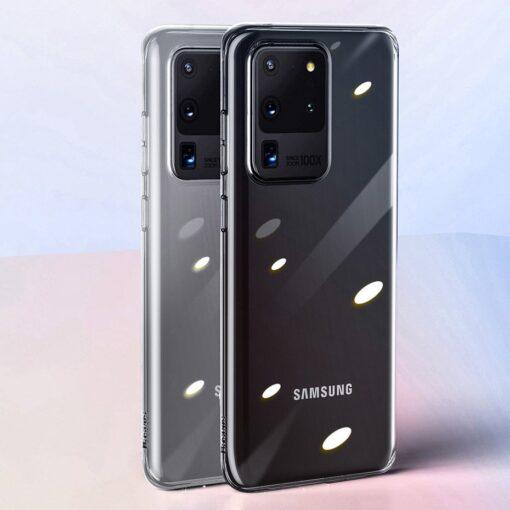 Samsung S20 Ultra Baseus Simple Gel umbris silikoonist labipaistev 20