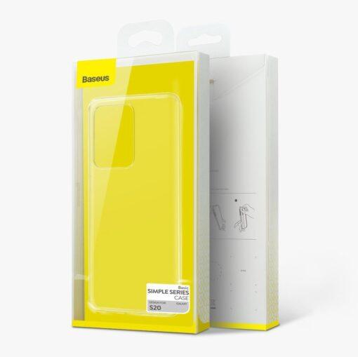 Samsung S20 Ultra Baseus Simple Gel umbris silikoonist labipaistev 21