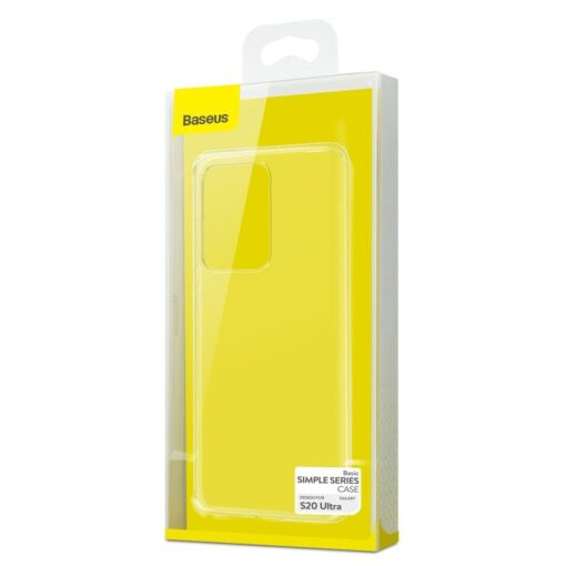 Samsung S20 Ultra Baseus Simple Gel umbris silikoonist labipaistev 22