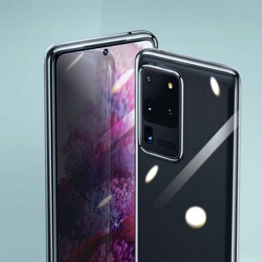 Samsung S20 Ultra Baseus Simple Gel umbris silikoonist labipaistev 7
