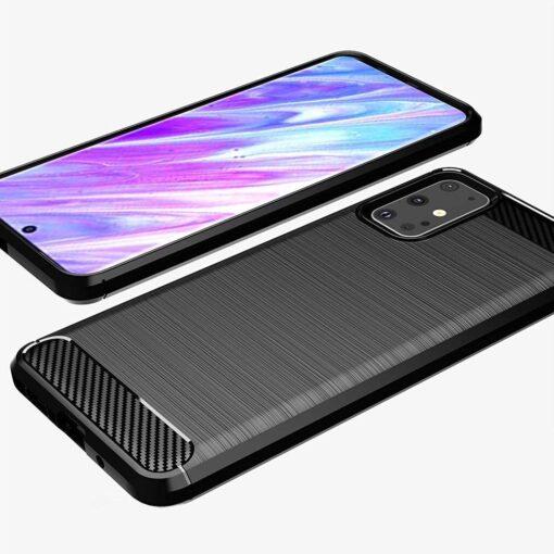 Samsung S20 Ultra umbris silikoonist Carbon must 1