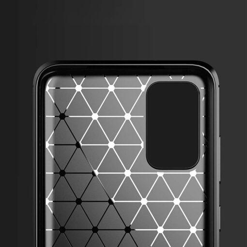 Samsung S20 Ultra umbris silikoonist Carbon must 5