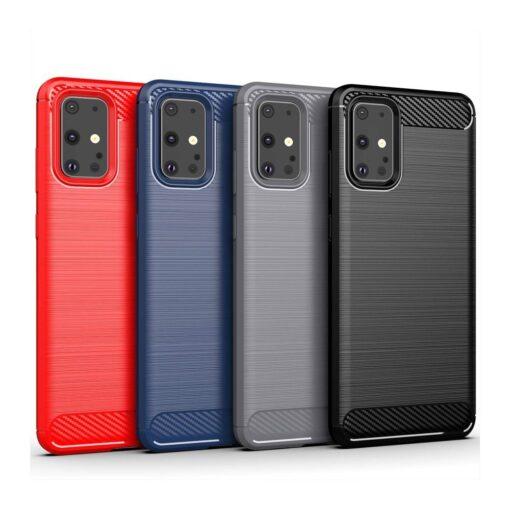 Samsung S20 Ultra umbris silikoonist Carbon must 7