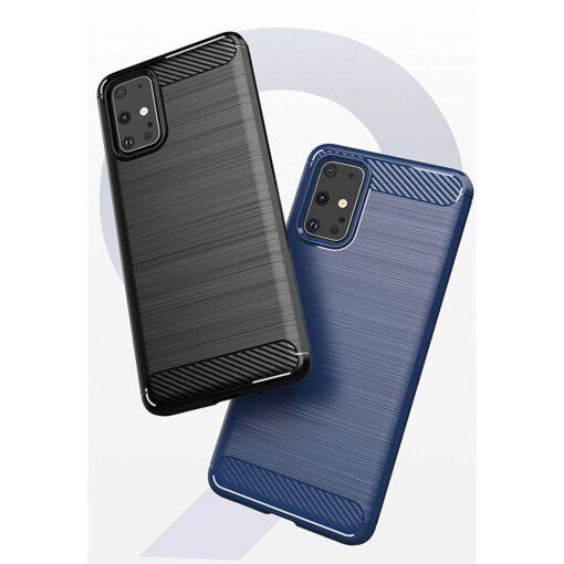 Samsung S20 Ultra umbris silikoonist Carbon sinine 4