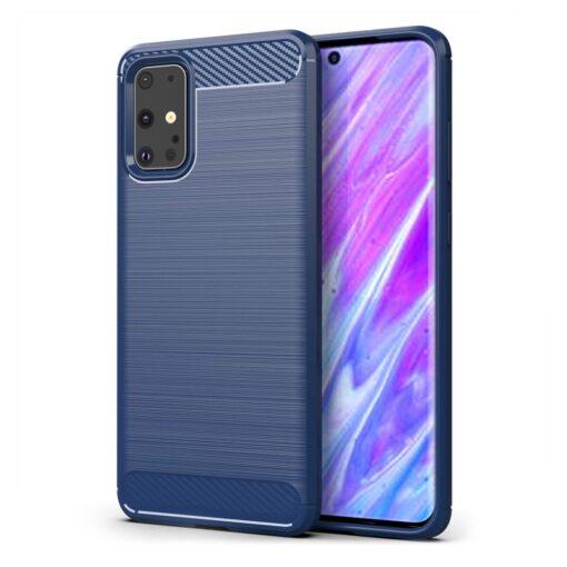 Samsung S20 Ultra umbris silikoonist Carbon sinine