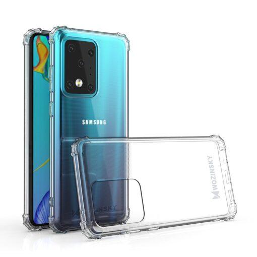 Samsung S20 Ultra umbris tugevdatud nurkadega silikoonist 1