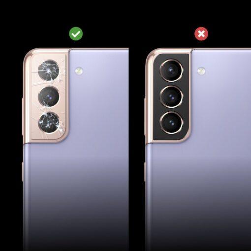 Samsung S21 Plus kaamera kaitse Ringke must 5