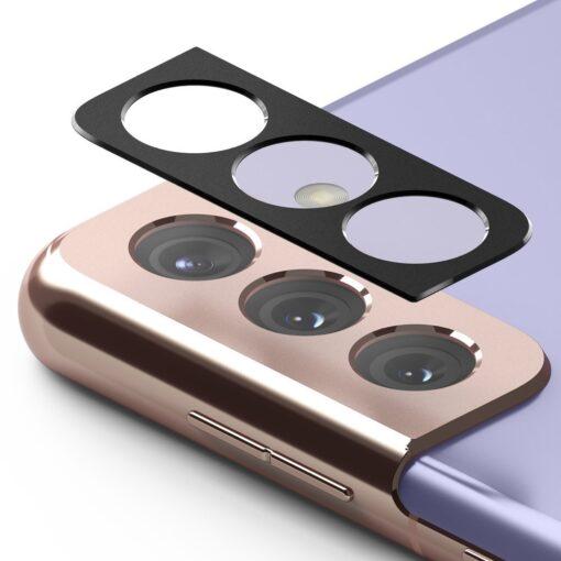 Samsung S21 Plus kaamera kaitse Ringke must