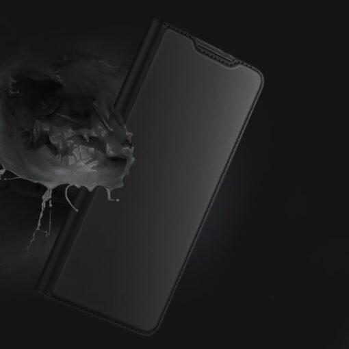 Samsung S21 Plus kunstnahast kaaned DUX DUCIS Skin Pro Bookcase must 11