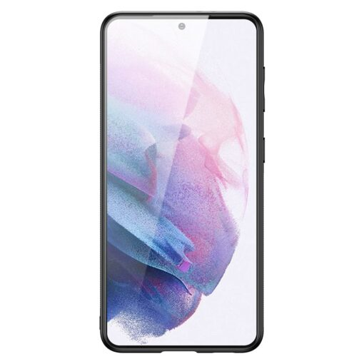 Samsung S21 Plus umbris Dux Ducis Yolo elegant kunstnahast ja silikoonist servadega must 2