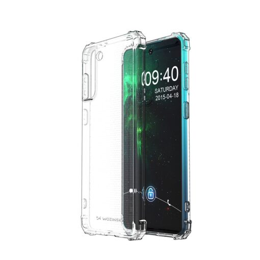 Samsung S21 Plus umbris tugevdatud nurkadega silikoonist 1