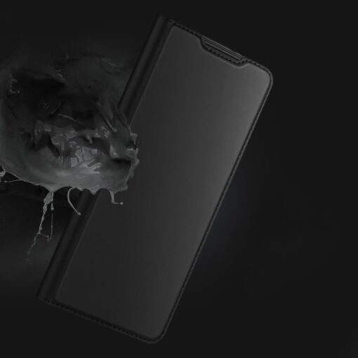 Samsung S21 Ultra kunstnahast kaaned DUX DUCIS Skin Pro Bookcase must 11