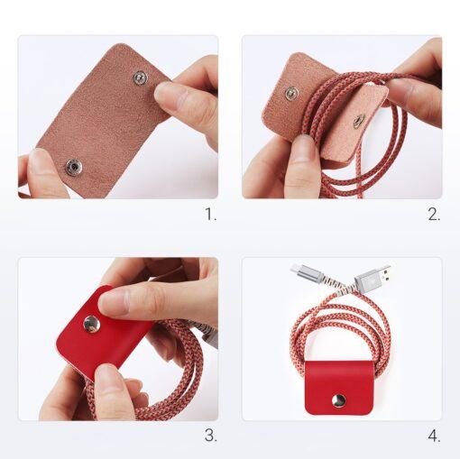Samsung S21 Ultra nahast raamatkaaned Dux Ducis Hivo punane 20