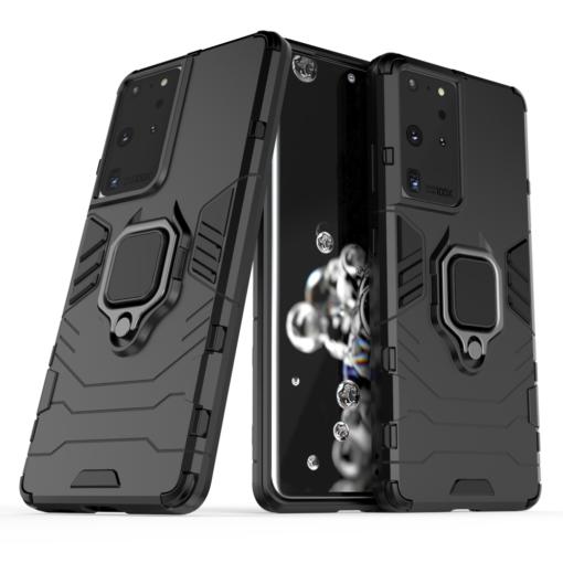 Samsung S21 Ultra umbris Ring Armor must 1