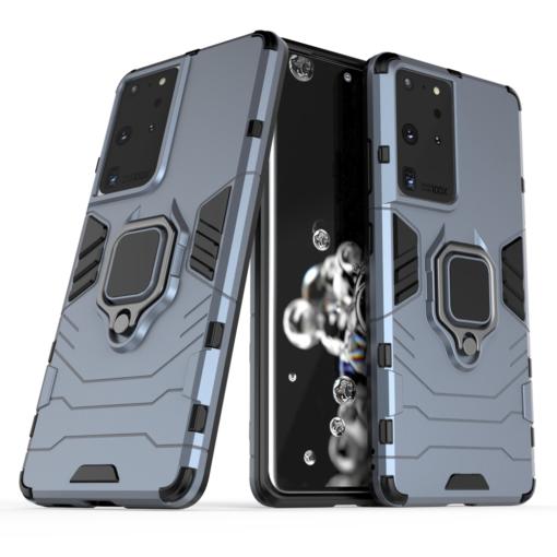 Samsung S21 Ultra umbris Ring Armor sinine 1