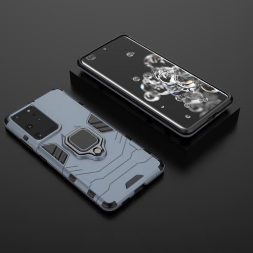 Samsung S21 Ultra umbris Ring Armor sinine 7