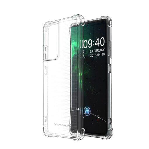 Samsung S21 Ultra umbris tugevdatud nurkadega silikoonist 1
