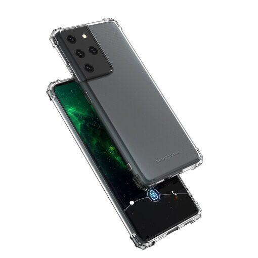 Samsung S21 Ultra umbris tugevdatud nurkadega silikoonist 3