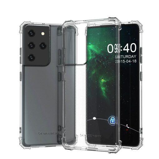 Samsung S21 Ultra umbris tugevdatud nurkadega silikoonist