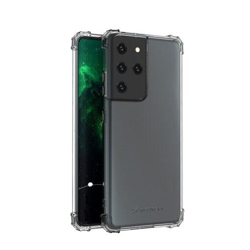 Samsung S21 Ultra umbris tugevdatud nurkadega silikoonist 7
