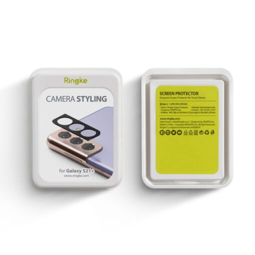 Samsung S21 kaamera kaitse Ringke must 4