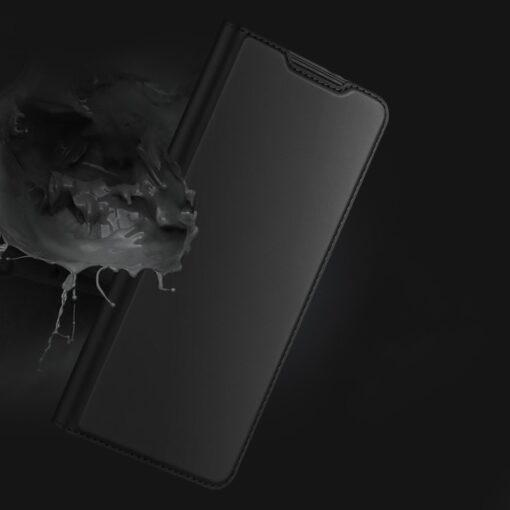Samsung S21 kunstnahast kaaned DUX DUCIS Skin Pro Bookcase must 11