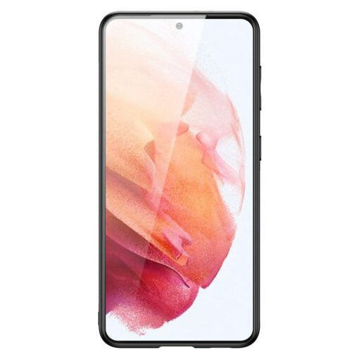 Samsung S21 umbris Dux Ducis Yolo elegant kunstnahast ja silikoonist servadega must 2