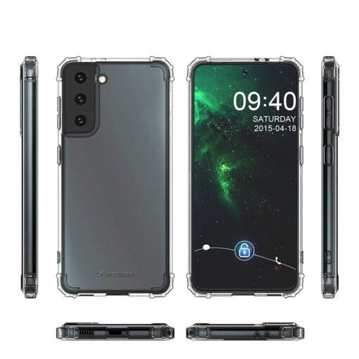 Samsung S21 umbris tugevdatud nurkadega silikoonist 7