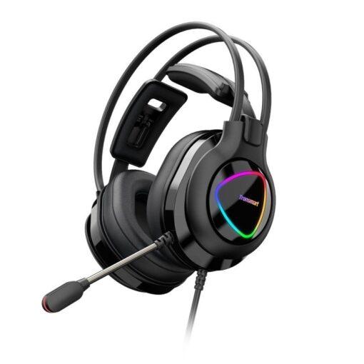 Tronsmart Glary Alpha Gaming RGB korvaklapid mikrofoni ja juhtpuldiga 3.5mm liides