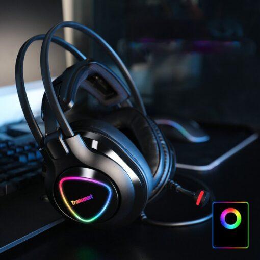 Tronsmart Glary Alpha Gaming RGB korvaklapid mikrofoni ja juhtpuldiga 3.5mm liides 6