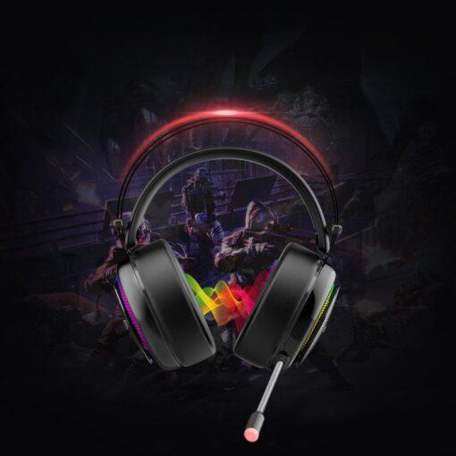 Tronsmart Glary Gaming RGB korvaklapid mikrofoni ja juhtpuldiga USB liides 3