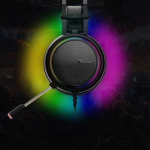 Tronsmart Glary Gaming RGB korvaklapid mikrofoni ja juhtpuldiga USB liides 5