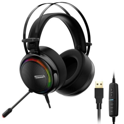 Tronsmart Glary Gaming RGB korvaklapid mikrofoni ja juhtpuldiga USB liides