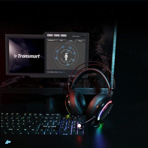 Tronsmart Glary Gaming RGB korvaklapid mikrofoni ja juhtpuldiga USB liides 9
