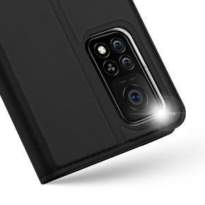 Xiaomi Mi 10T Pro Mi 10T kunstnahast kaaned DUX DUCIS Skin Pro Bookcase must 12