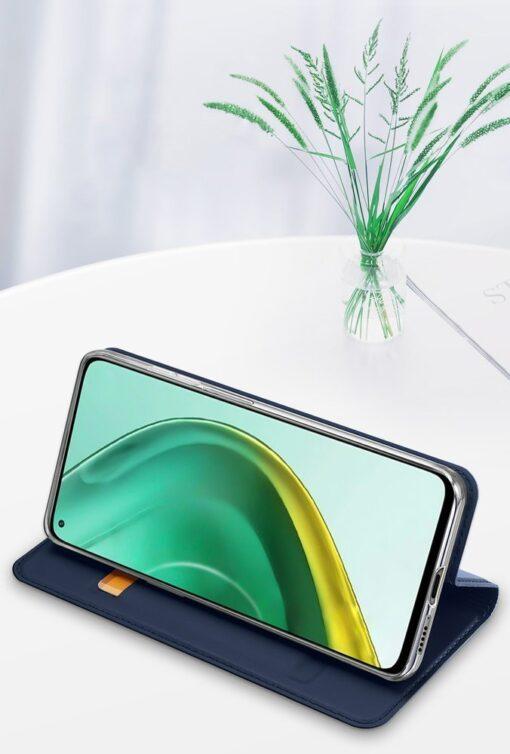 Xiaomi Mi 10T Pro Mi 10T kunstnahast kaaned DUX DUCIS Skin Pro Bookcase must 20