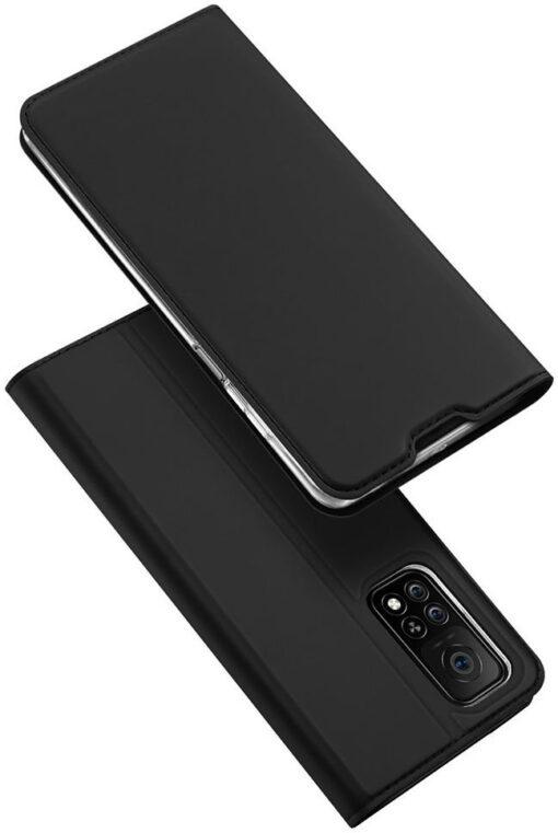 Xiaomi Mi 10T Pro Mi 10T kunstnahast kaaned DUX DUCIS Skin Pro Bookcase must