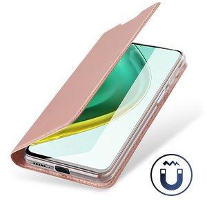 Xiaomi Mi 10T Pro Mi 10T kunstnahast kaaned DUX DUCIS Skin Pro Bookcase roosa 13