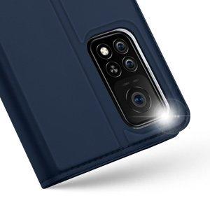 Xiaomi Mi 10T Pro Mi 10T kunstnahast kaaned DUX DUCIS Skin Pro Bookcase sinine 13