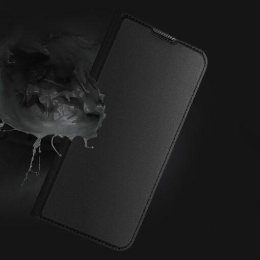Xiaomi Mi 10T Pro Mi 10T kunstnahast kaaned DUX DUCIS Skin Pro Bookcase sinine 15