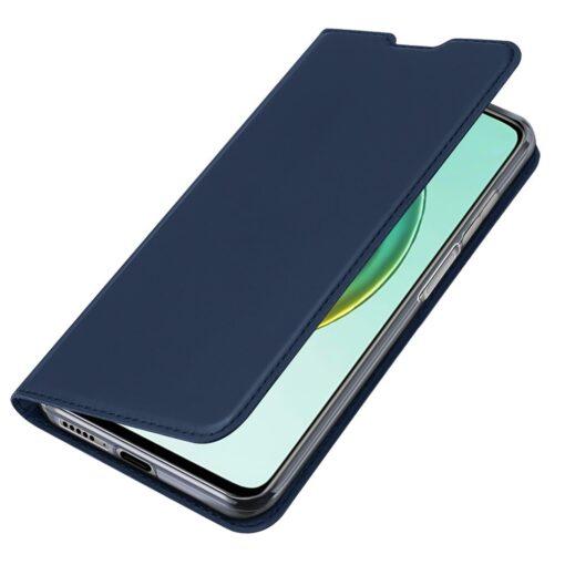 Xiaomi Mi 10T Pro Mi 10T kunstnahast kaaned DUX DUCIS Skin Pro Bookcase sinine 3