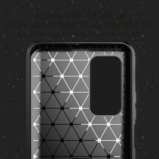 Xiaomi Mi 10T ja Mi 10T Pro umbris silikoonist Carbon sinine 1