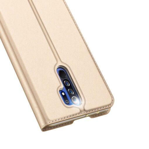 Xiaomi Redmi 9 kunstnahast kaaned DUX DUCIS Skin Pro Bookcase must 2