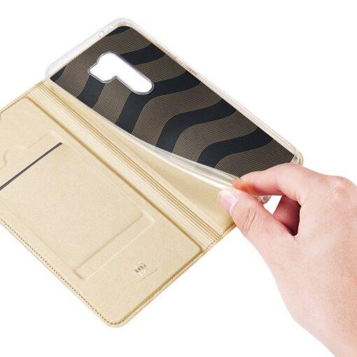Xiaomi Redmi 9 kunstnahast kaaned DUX DUCIS Skin Pro Bookcase must 6