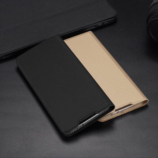 Xiaomi Redmi 9 kunstnahast kaaned DUX DUCIS Skin Pro Bookcase roosa 19